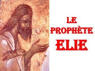 Le proph teELIE