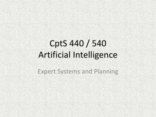 CptS 440