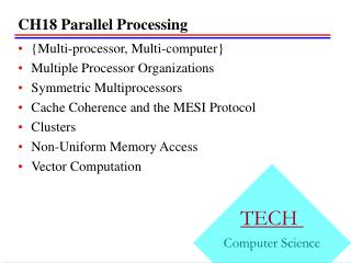 CH18 Parallel Processing