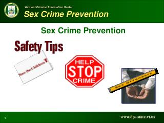 Sex Crime Prevention
