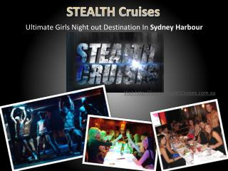 ladies cruises on sydney harbour