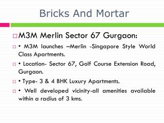 tollfree: 18001034142, m3m merlin gurgaon, m3m merlin