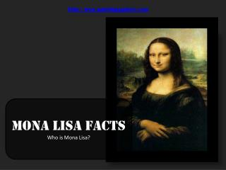 mona lisa facts