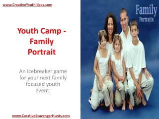 Youth Camp - Family Portrait