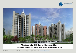 Saarrthi Group - Saarrthi Souvenir Elegant Homes in Baner