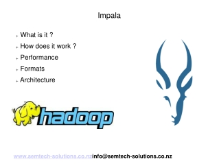 An introduction to Cloudera Impala