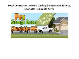garage door charlotte