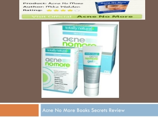 acne no more is a scam ?