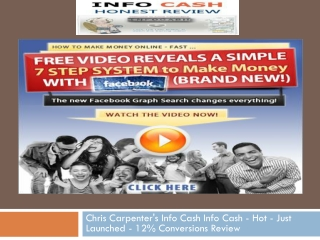 review chris carpenter info cash
