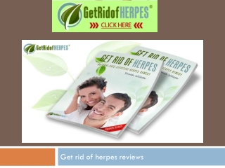 rid of herpes antibodies does
