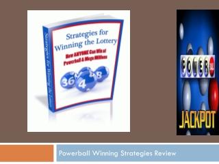 Powerball Winning Strategies Review