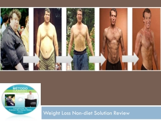 Weight Loss Non-diet Solution Review