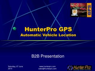 HunterPro GPS Automatic Vehicle Location