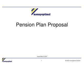 Pension Plan Proposal