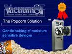 Gentle baking of moisture sensitive devices