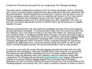 Go For The Technicolor Keyboard Print Longchamp Le Pliage Ba