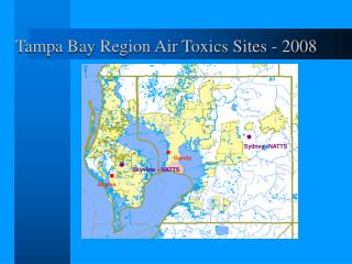 Tampa Bay Region Air Toxics Sites - 2008