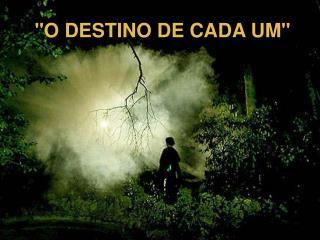 O DESTINO DE CADA UM
