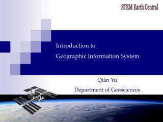 Introduction to  Geographic Information System