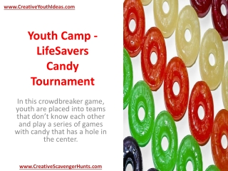 Youth Camp - LifeSavers Candy Tournament