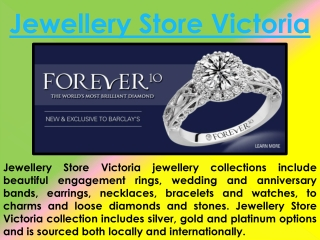 Jewellery Store Victoria