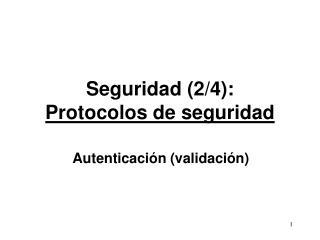 Seguridad 2