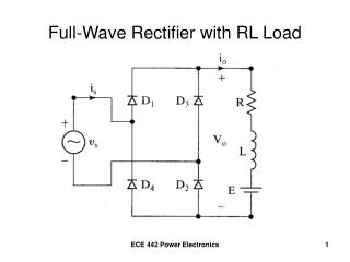 Full-Wave Rectifier with RL Load
