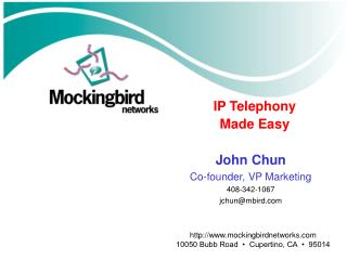 IP Telephony  Made Easy
