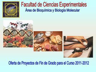 Facultad de Ciencias Experimentales