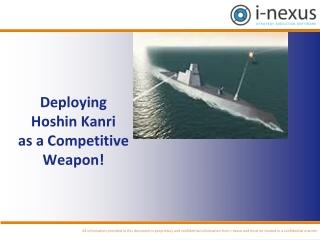 Deploying Hoshin Kanri as a Competitive Weapon