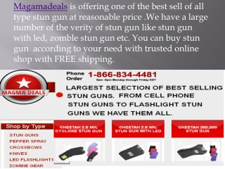 Buy stun Gun at magmadeals