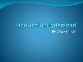 Liposuction Hyderabad
