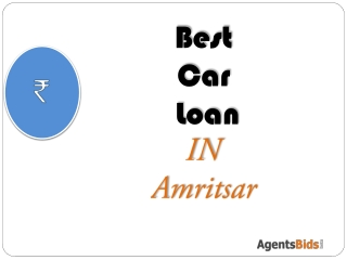 Best Car loan in amritsar