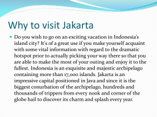Get cheap flights to Jakrta from London