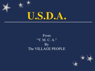 From  Y. M. C. A.  By  The VILLAGE PEOPLE