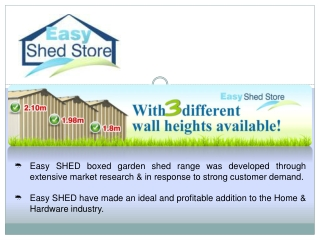 Easy Shed Store