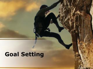 goal setting (modern) powerpoint presentation content: 133 s