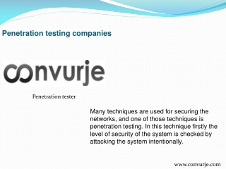 Where to find a penetration tester
