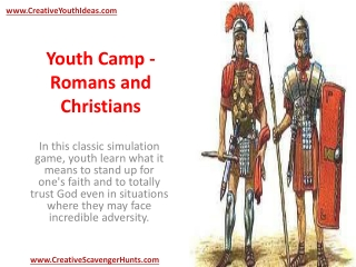 Youth Camp - Romans and Christians