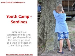 Youth Camp - Sardines