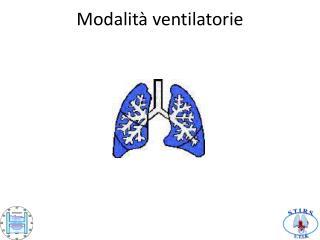 Modalit  ventilatorie