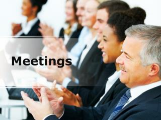 meetings (modern) powerpoint presentation content: 134 slide