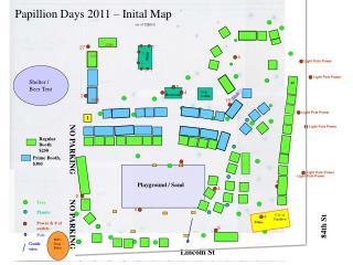 Papillion Days 2011   Inital Map