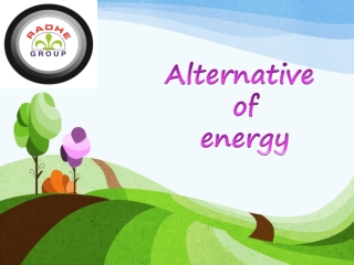 alternative of energy