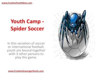 Youth Camp - Spider Soccer