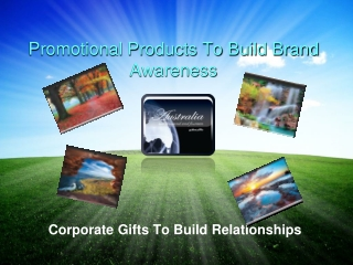 Promotional Products To Build Brand Awareness