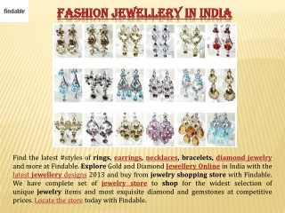 Fashion Jewellery for Women