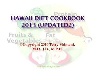 Hawaii Diet Cookbook 2013 (updated2)10