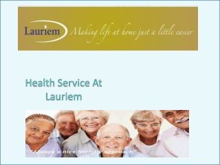 Health Service At Lauriem