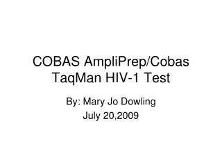 COBAS AmpliPrep